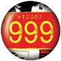 999 Chapa/ Button Badge