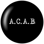 A.C.A.B Chapa/ Button Badge