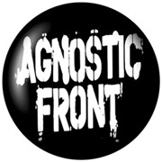 AGNOSTIC FRONT Chapa/ Button Badge