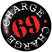 CHARGE 69 Chapa/ Button Badge