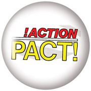 ACTION PACT Chapa/ Button Badge
