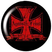 AGNOSTIC FRONT Iron Cross Chapa/Button badge