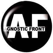 AGNOSTIC FRONT A.C Chapa/Button badge
