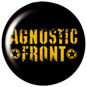 AGNOSTIC FRONT Stencil Chapa/Button badge