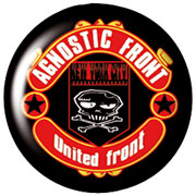 AGNOSTIC FRONT United Front Chapa / Button badge