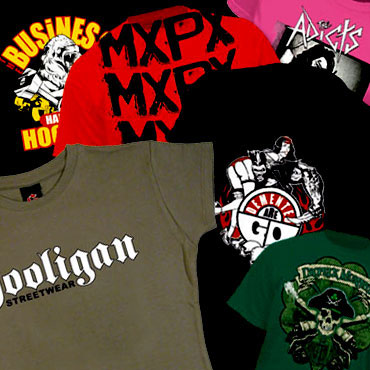 678fb3a7d Buy punk girl t-shirts, hardcore band t-shirts and girl lonsdale t-shirts  at ...
