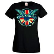 Diseño COCK SPARRER Hooligan punk Girl T-shirt