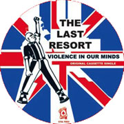 THE LAST RESORT Violence In Our Minds PICTURE EP LIMITED EDITION
