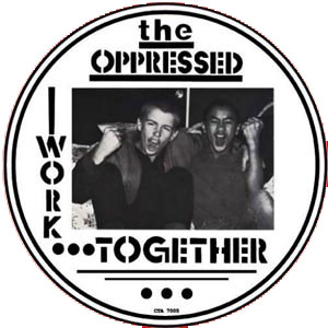 THE OPPRESSED Victims / Work Together PICTURE EP LIMITED EDITION