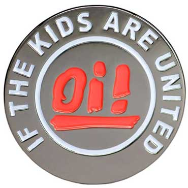 OI! IF THE KIDS ARE UNITED Belt Buckle