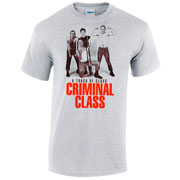 CRIMINAL CLASS A Touch of Class Grey Tshirt picture