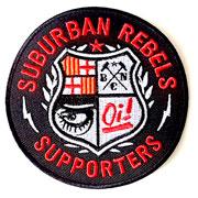 Diseño parche SUBURBAN REBELS Supporters