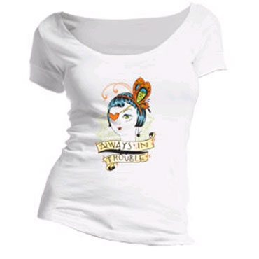 THIRTYSIX Always In Trouble Girl T-shirt / Camiseta de chica