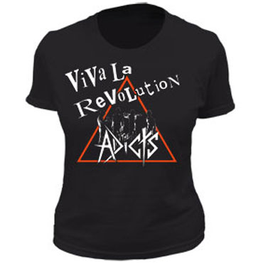 ADICTS, THE Clock Revolution Girl T-Shirt / Camiseta Chica