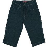 3/4 Jeans denimblack / Pantalon baquero 3/4 negro