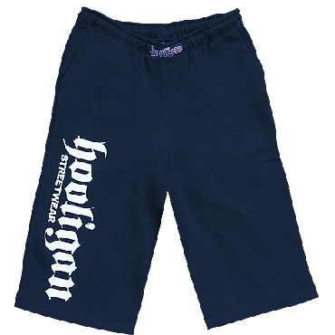 JAM BIG Pantalon corto Negro / HOOLIGAN STREETWEAR