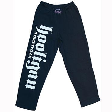 JOGGINGPANT BIG Pantalon Negro / HOOLIGAN STREETWEAR