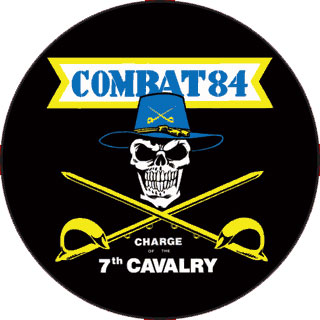 COMBAT 84 Charge Of The 7th Cavalry PICTURE LP