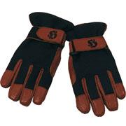 CLINT Black & Brown Gloves / HOOLIGAN STREETWEAR