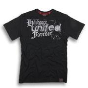 HARDCORE UNITED Forever T-shirt Black