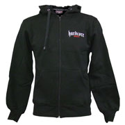 HARDCORE UNITED Hooded Zipjacket TRAX Black/Negro