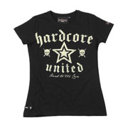 Girl T-shirt HARDCORE UNITED Corry