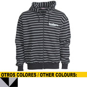 HOOLIGAN HOODED SWEAT JACKET Sudadera con capucha