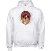 HOODED SWEAT DON MUERTO SWhite / HOOLIGAN STREETWEAR