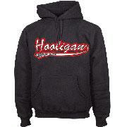 KS HOODED SWEAT CLASSIC 93 Black / HOOLIGAN STREETWEAR