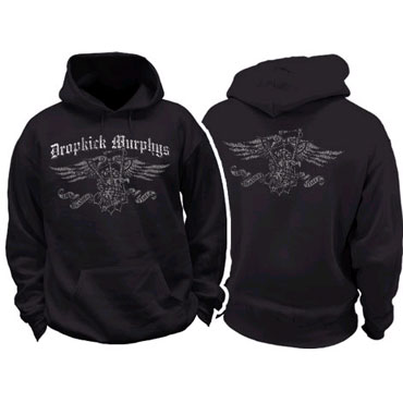 DROPKICK MURPHYS Distressed Eagle Sudadera con capucha / Hooded Sweat