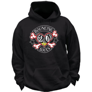 BOUNCING SOULS 20 Years Hooded Zipper / Sudadera con capucha