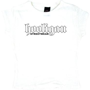 TS Old School white / Camiseta de chica blanca