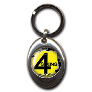 4-SKINS 2 Llavero/Keyring
