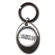AGAINST ALL AUTHORITY Llavero/Keyring