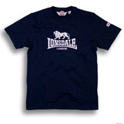 LONSDALE SMITH T-Shirt Nav 110001 - Lonsdale London