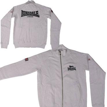 LONSDALE Sweatjacket Ladies BROMLEY White 110030