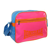 LONSDALE BAG L59C-CB 8437 Fresh Royal Blue/Pink 110073 - Lonsdale London