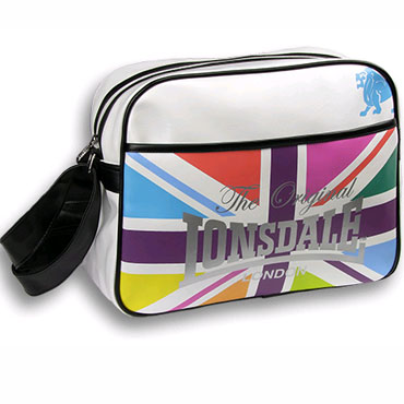 LONSDALE BAG 8437 Bright Flag White 110385 7000 - Lonsdale London