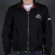 LONSDALE HARRINGTON JACKET Lonsdale Black 110538 - Lonsdale London