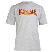 LONSDALE CLASSIC T-Shirt Marl Grey 110569 - Lonsdale London