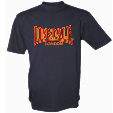 LONSDALE CLASSIC T-Shirt Navy 110569 - Lonsdale London