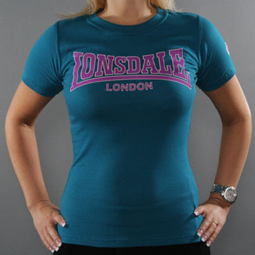 LONSDALE CLASSIC Ladies T-Shirt Italy Blue 110594 - Lonsdale London