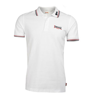 LONSDALE LION Poloshirt White 110629 - Lonsdale London