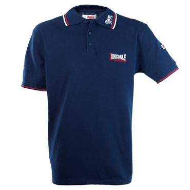 LONSDALE LION Poloshirt Navy 110629 - Lonsdale London