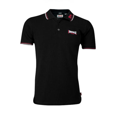 LONSDALE LION Poloshirt Black 110629 - Lonsdale London