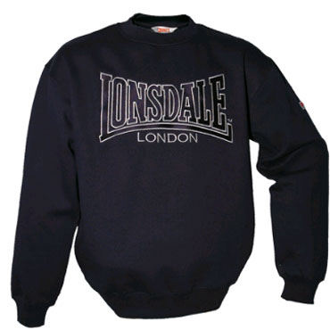 LONSDALE BERGER Crewneck Sweatshirt Navy 110630 - Lonsdale London