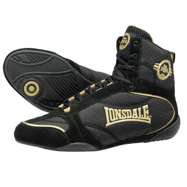 LONSDALE Boxing boots RAPID Black 110678