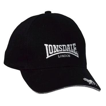 72d607db143a4 LONSDALE Cap TAPE Black 110693 - Lonsdale London