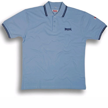 LONSDALE Slim Fit Classic Polo LOXLEY Soft Sky - Lonsdale London