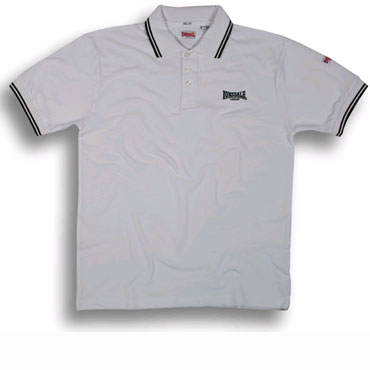 LONSDALE Slim Classic Poloshirt LOXLEY White - Lonsdale London